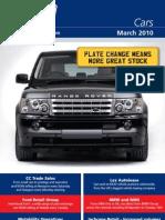 British Car Auctions March 2010