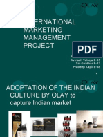 International Marketing Management Project