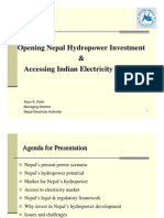 Nepal Hydro Power Development