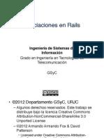 11 Asociaciones en Rails