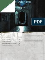 Resident Evil Revelations Artbook