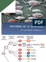 Fisiopatologia - Transtornos de La Hemostasia