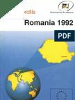 Country Profile Romania 1992