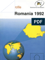 Country Profile Romania 1992