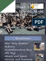 back to school night 15-16
