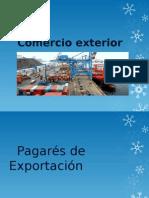 Comercio ExteriorPAGARES