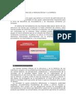 Medio Ambiente Externo de La Mercadotecnia y La Empresa