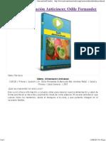Alimentación Anticáncer, Odile Fernandez