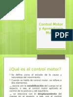 Control Motor y Aprendizaje Motor