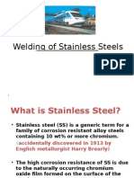 Welding of Stainless Steels
