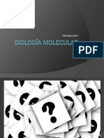Biología Molecular Generalidades