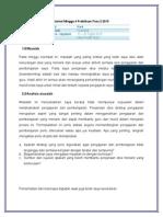 Jurnal Minggu 4 Praktikum Fasa 2 2015