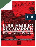 Recabarren - Escritos de Prensa