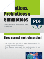 Probióticos, Prebióticos y Simbióticos