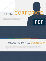 TheCorporate - Business Presentation Template