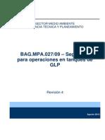 BAG.mpa.027 Seguridad Para Operaciones en Tanques de GLP