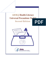 AHRQ Health Literacy Universal Precautions Toolkit 2015.pdf