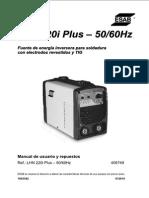 esab - Manual Lhn 220i Plus