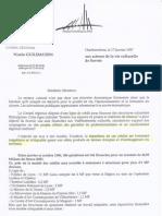 Propositions du groupe Verts écologistes en 1996