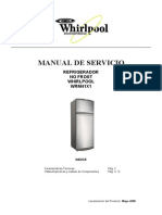 Heladera no frost whirpool WRM41X1