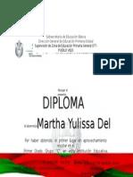 Diploma de Yulissa