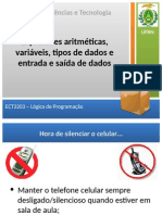 Expressoes aritmeticas, variaveis, tipos de dados e entrada e saída de dados_exercicios.pdf