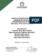 Cartilla Jurados de Votacion 2010