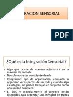 Integracion Sensorial
