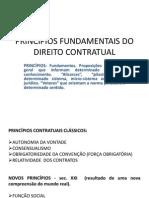 Princípios Fundamentais Do Direito Contratual