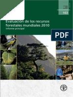 Evaluación de Recursos Forestales_FAO(2010)