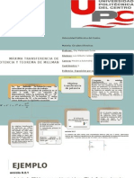 Teorema de Millman y Maxima Transferencia de potencia