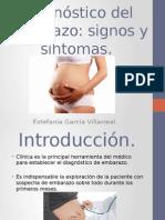 Diagnóstico Del Embarazo