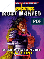 Goosebumps Most Wanted 5 Dr Maniac Will See You Now