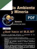 MEM Pres de Mineria Charla en Zamora Final Ivan
