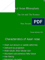 Augmented Asian Rhinoplasty(Green Background)