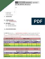 Plan de Apoyo Formato Para Los Alumnos