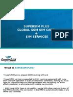 SuperSim Plus, Global GSM Traveling SIM Card
