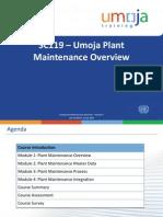 SC119 - Umoja Plant Maintenance Overview - CBT PPT - V5