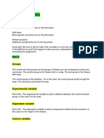 responses cheat sheet