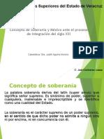 Conceptos de Soberanía y México Ante El Proceso de Integración Del Siglo XX