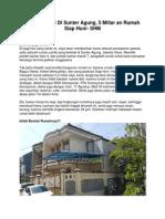 Rumah Dijual Di Sunter Agung, 5 Miliar an Rumah Siap Huni- SHM