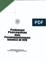 Pedoman Pencegahan Dan Penanggulangan Infeksi Di Icu