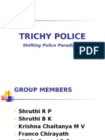 Trichy Police paradigm, a ppt for management students
