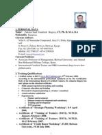 Dr. Zakaria Hegazy CV السيرة الذاتية -زكريا حجازى