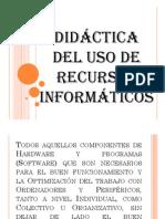 Didactica del uso de las TICs