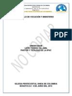 Modulo Vocación y Ministerio Hno Leon Torres