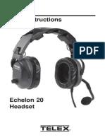 Echelon 20 Headset