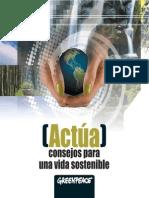 Greenpeace - Guia de Sostenible de Consumo Y Recetas Caseras Y Naturales