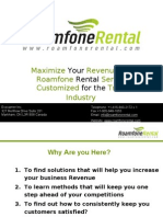 Become a Roamfone Rental Service Reseller!