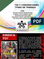 Sindicatos y Convenciones Colectivas de Trabajo Diapositivas